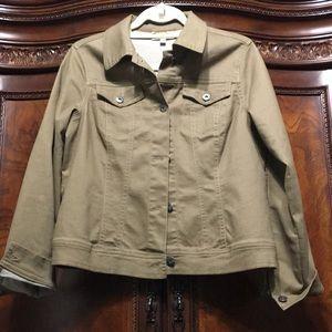 Diane Gilman Virtual Stretch Denim Jacket
